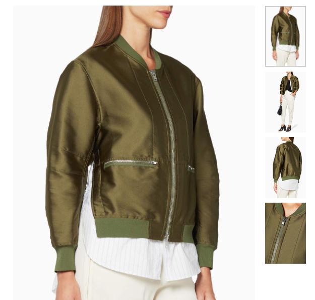 Khaki Trompe l'Oeil Bomber Jacket